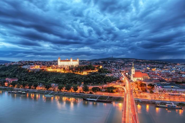 13 Bratislava Castle