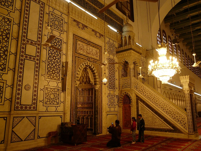 26 Damascus Mosque
