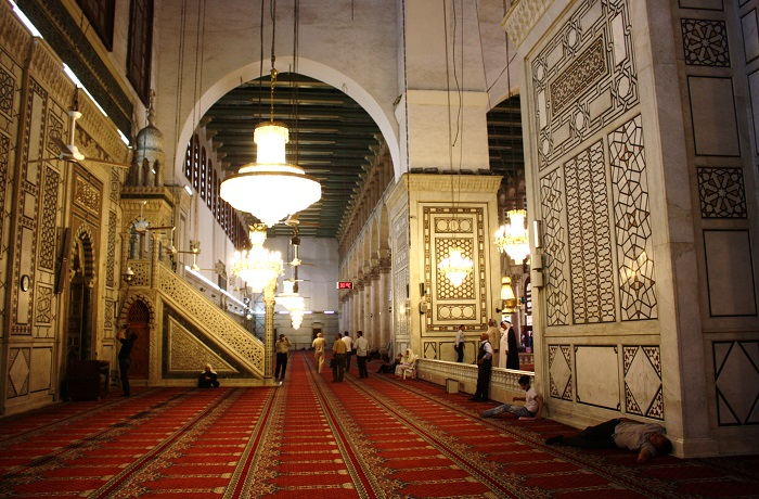 29 Damascus Mosque