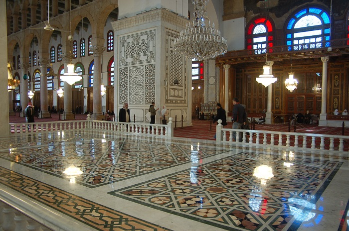 3 Damascus Mosque