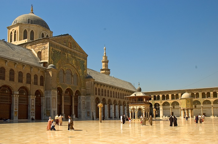 9 Damascus Mosque