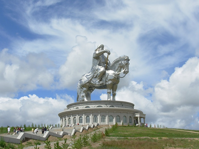 1 Genghis Statue