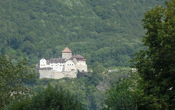 Vaduz Castle Is The Official Palace And Residence Of Prince Liechtenstein Located 120 Meters 324 Feet Above Capital City