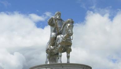 3 Genghis Statue