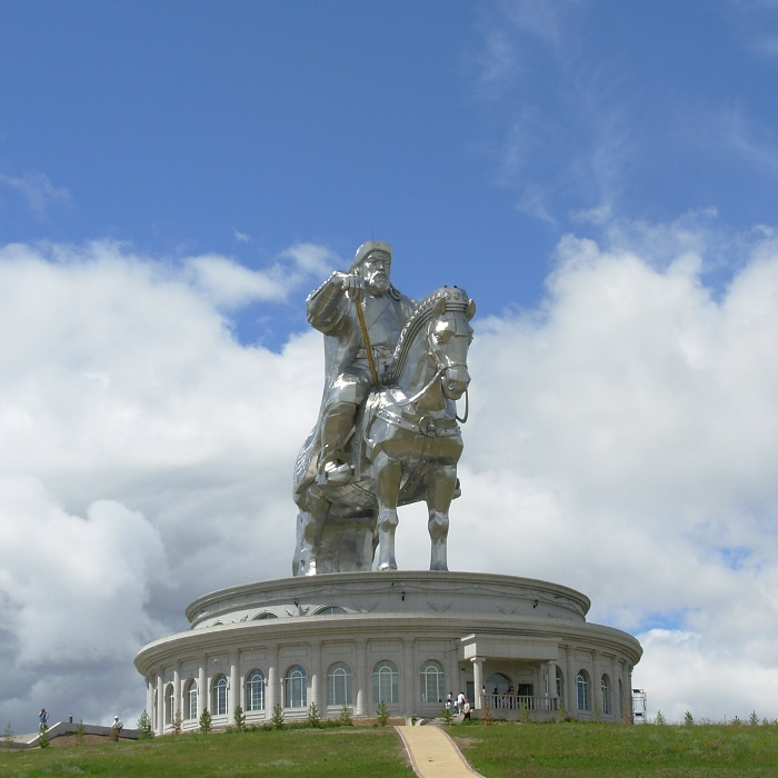 3 Genghis Statue