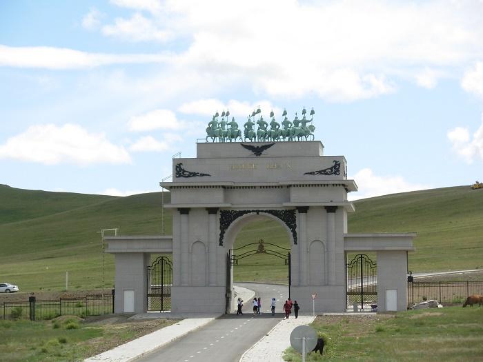 4 Genghis Statue