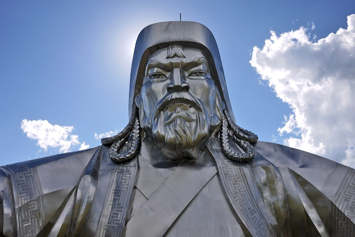 5 Genghis Statue