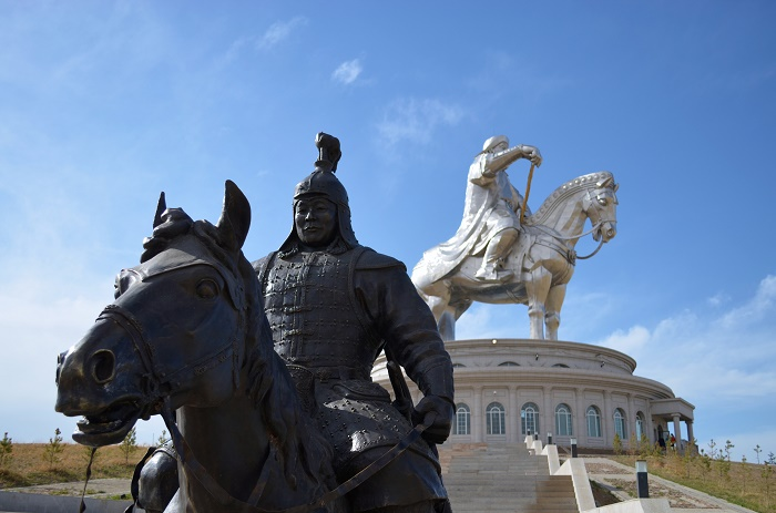 7 Genghis Statue