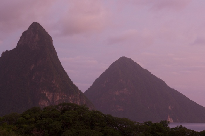 8 Pitons Lucia
