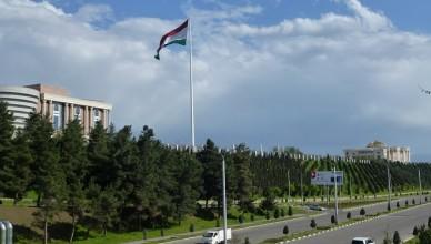 1 Dushanbe Flagpole