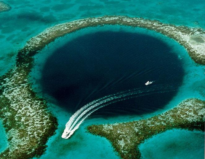 4 Belize Sinkhole