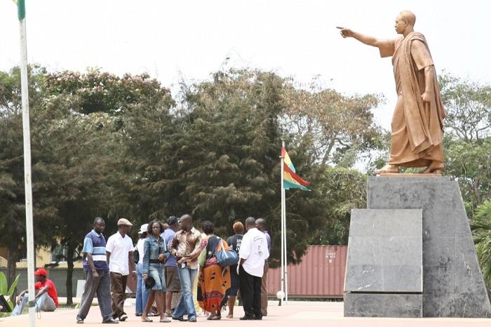 8 Kwame Mausoleum