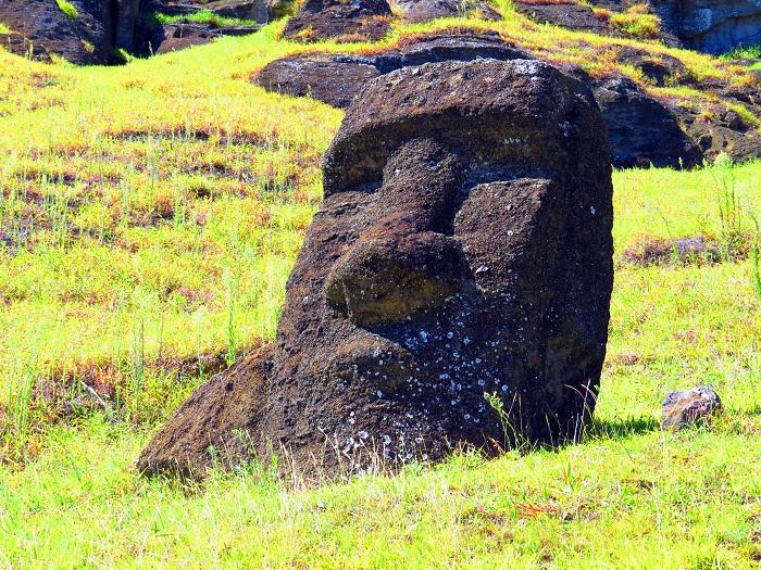 10 Moai Statues