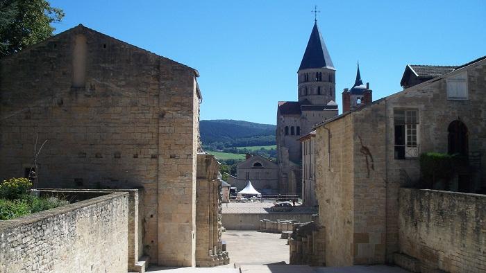 8 Cluny Abbey