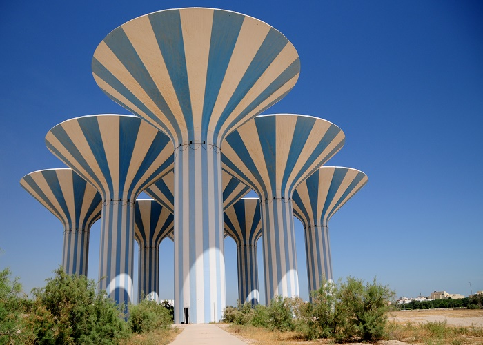 3 Kuwait Water Towers