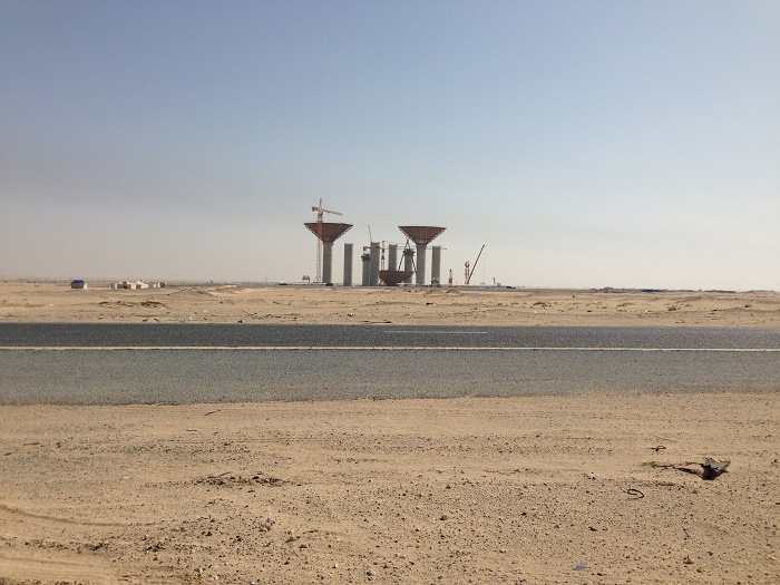 5 Kuwait Water Towers
