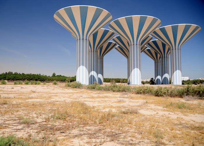 7 Kuwait Water Towers