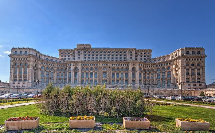 1 Romania Parliament