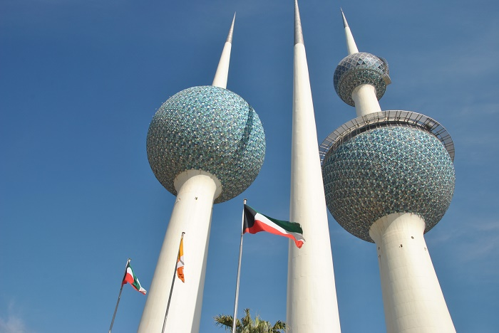 6 Kuwait Towers