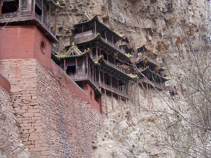 4 Hanging Temple China