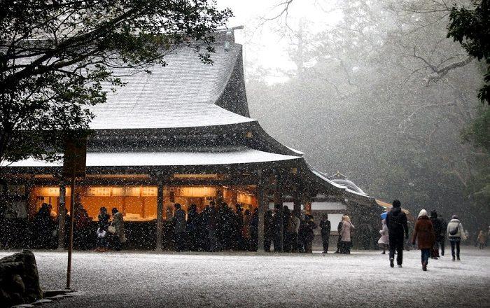 16 Ise Grand Shrine