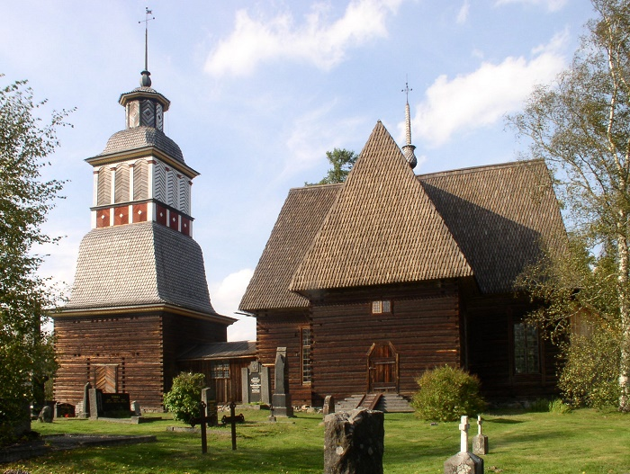 4 Petjavesi Church