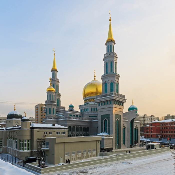 5 Moscow Mosque