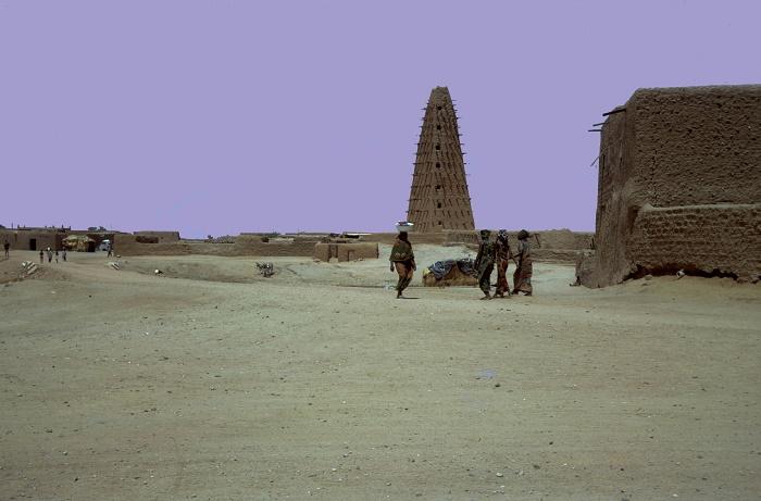 3 Agadez Mosque