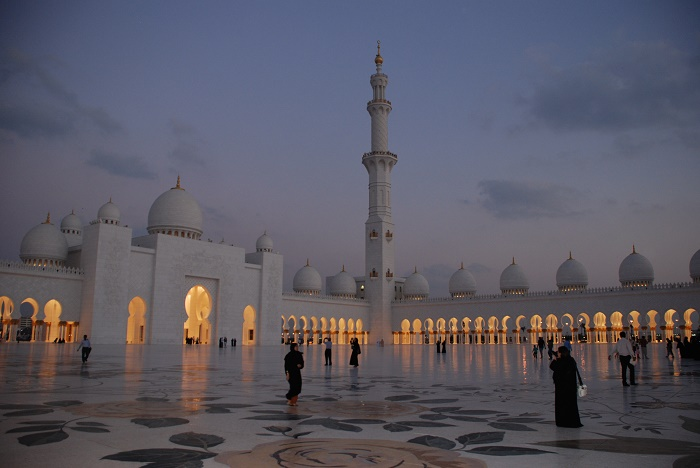 11 Zayed Mosque