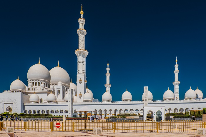 5 Zayed Mosque