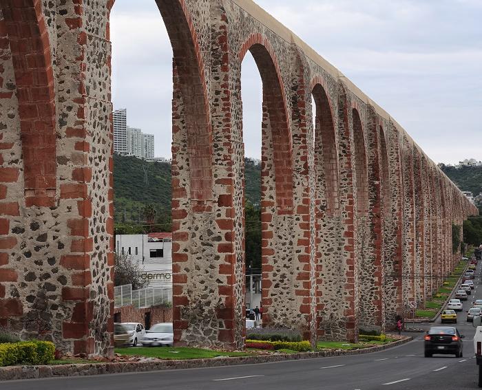 7 Queretaro Aqueduct