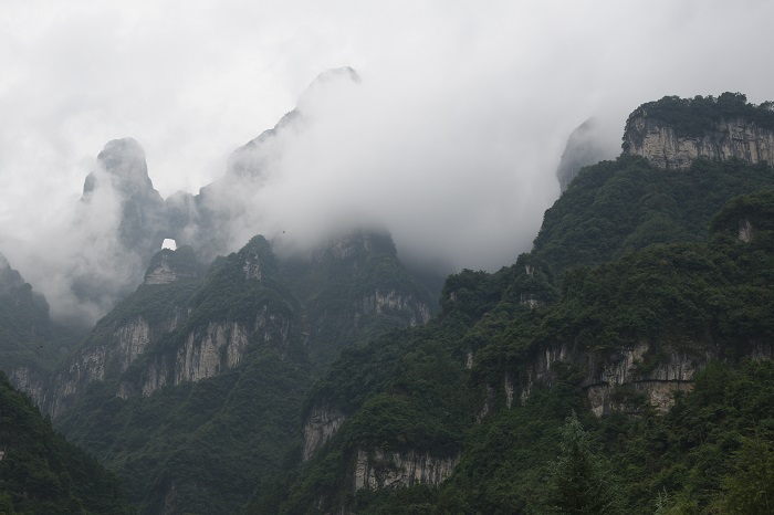 1 Tianmen Mountain