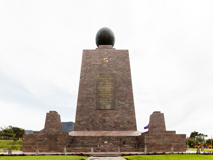10 Equator Monument