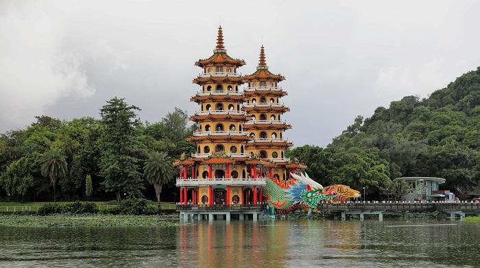 2 Taiwan Pagodas
