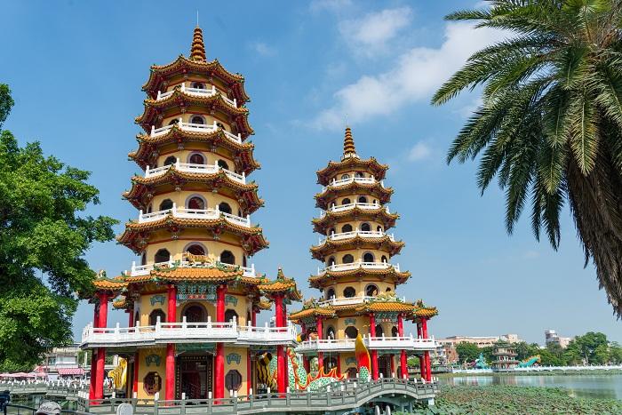 4 Taiwan Pagodas