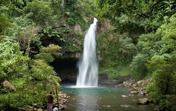 Tavoro Falls Alluring World