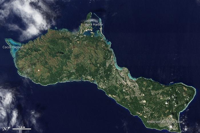1 Cocos Guam