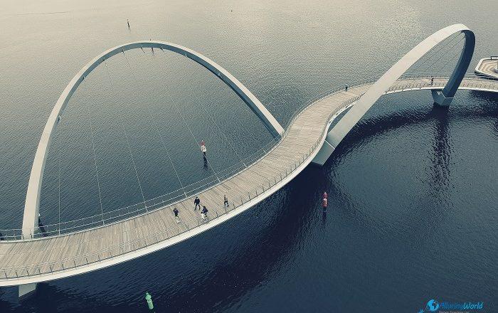 1 Elizabeth Quay Bridge