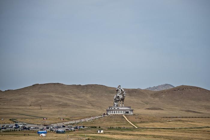10 Genghis Statue