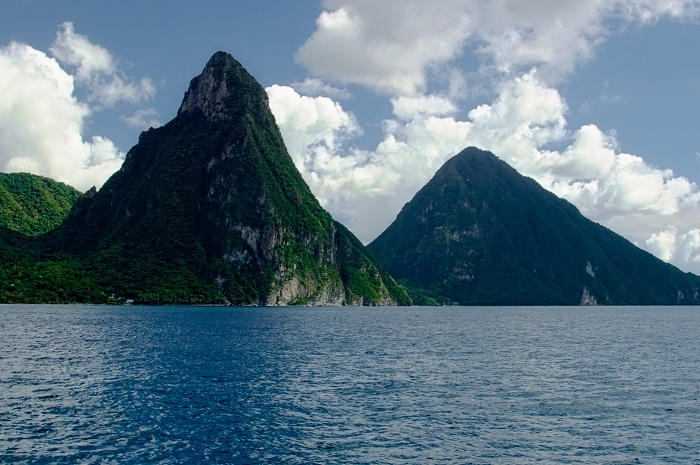 10 Pitons Lucia