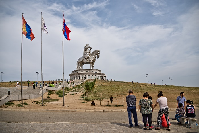 11 Genghis Statue