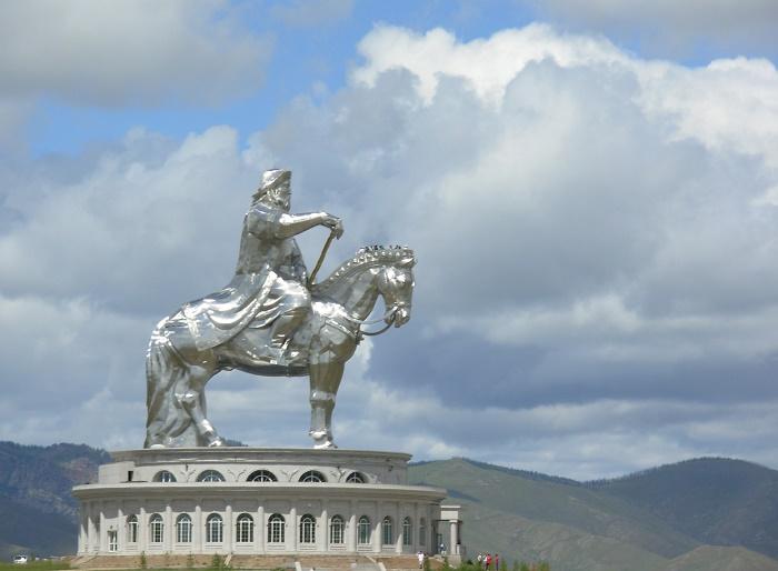 2 Genghis Statue