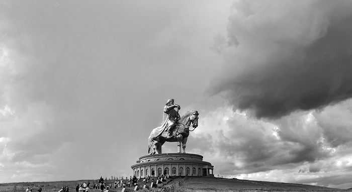 6 Genghis Statue