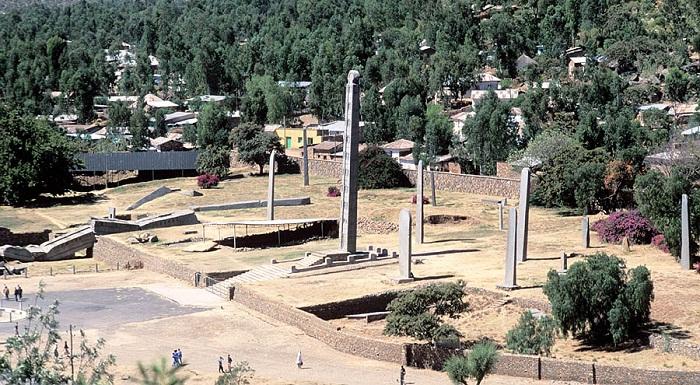 4 Axum Obelisk