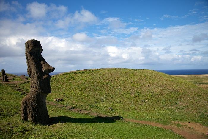 5 Moai Statues