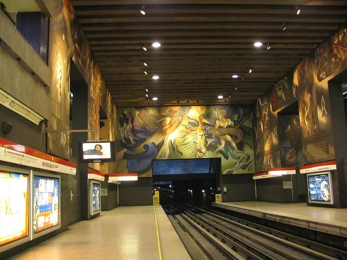 6 Universidad Chile Metro