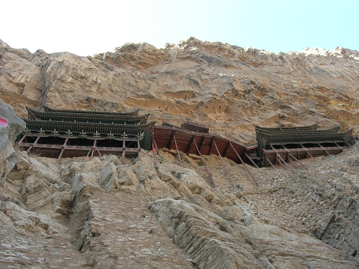 9 Hanging Temple China