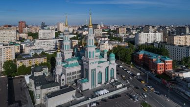 10 Moscow Mosque