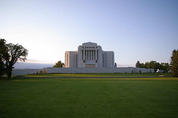 6 Cardston Temple