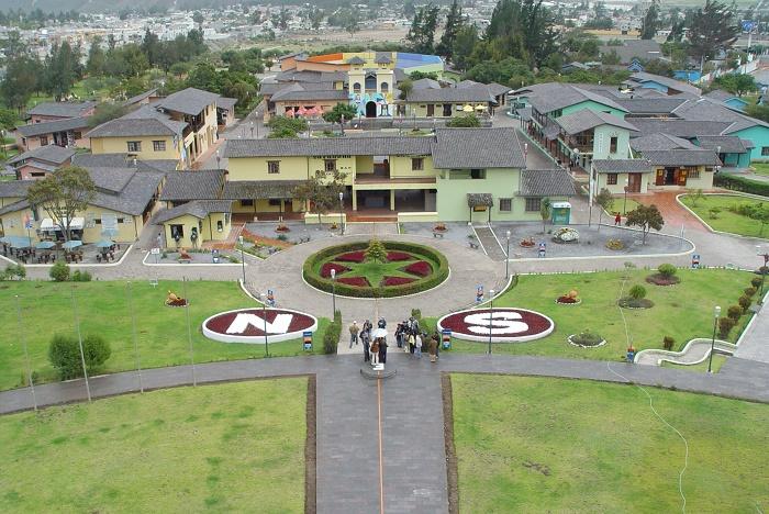 9 Equator Monument